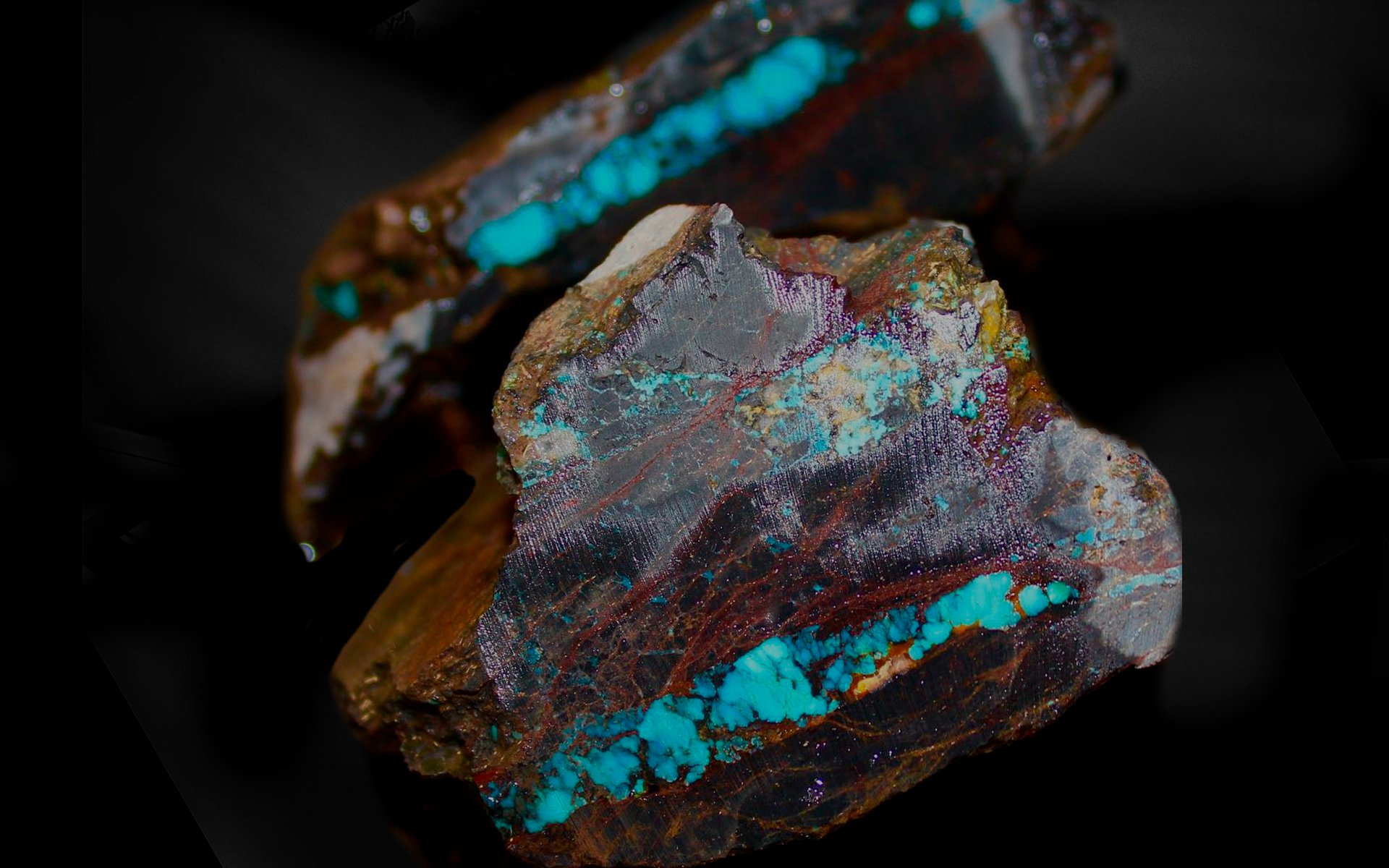 100% natural American Turquoise